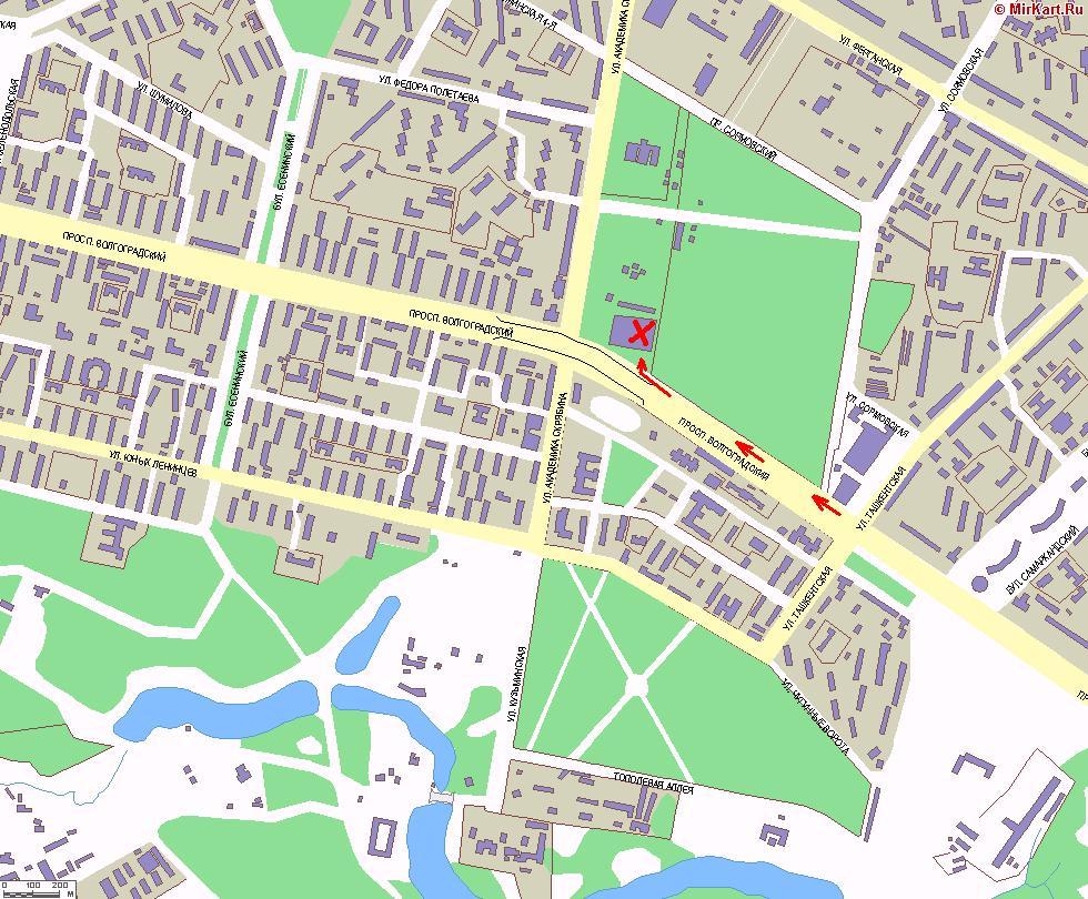 Мы находимся по адресу: г.Москва, Волгоградский проспект д.177.  Карта проезда.
